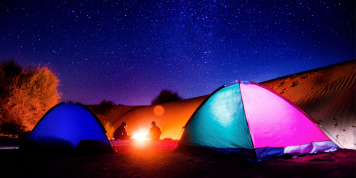 Sleep Under The Stars – Live More Zone