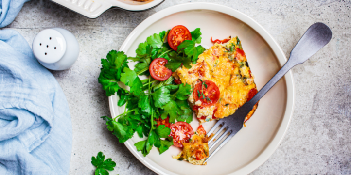 Baked Frittata  – Live More Zone