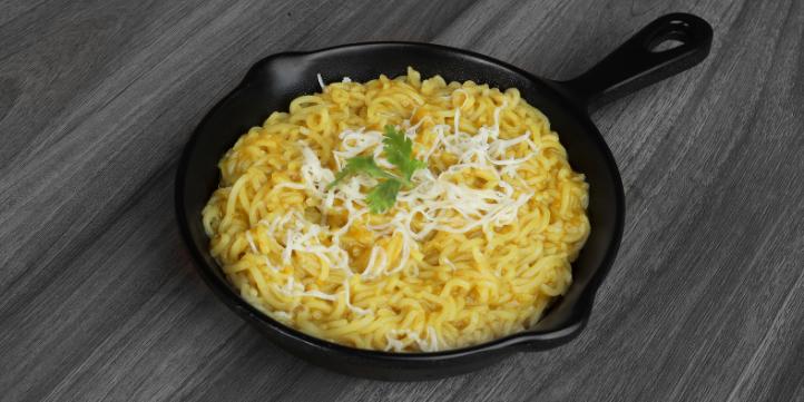 Cheesy Maggi  – Live More Zone