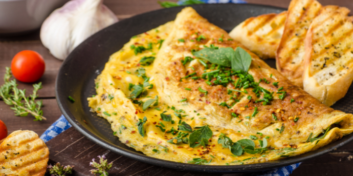 Cheese Omelette– Live More Zone