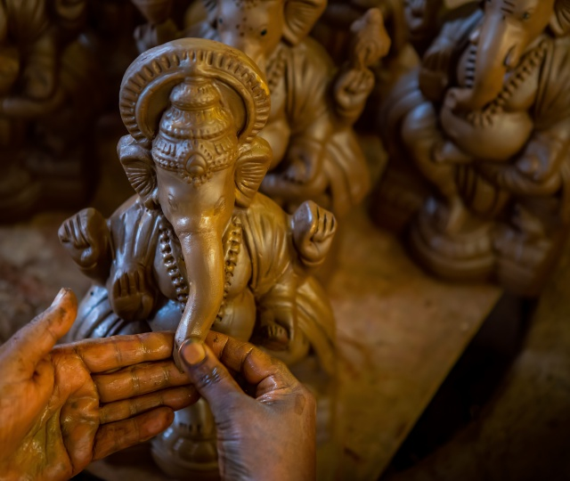 Go Green – Get Eco-Friendly Ganesh Idols From These Places In The City