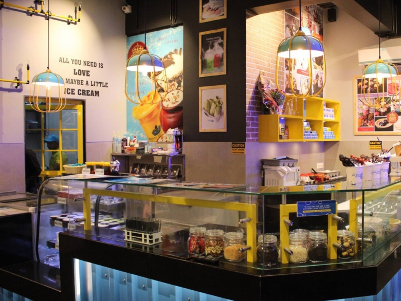 Relive Your Childhood At This Ice Cream Parlour