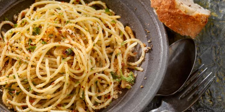 Spaghetti aglio e olio – Live More Zone