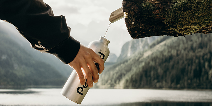 Sustainable bottle - Live More Zone