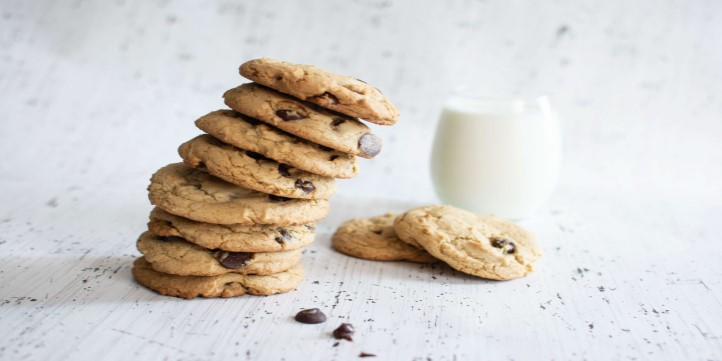 Chocolate and Oats Cookies