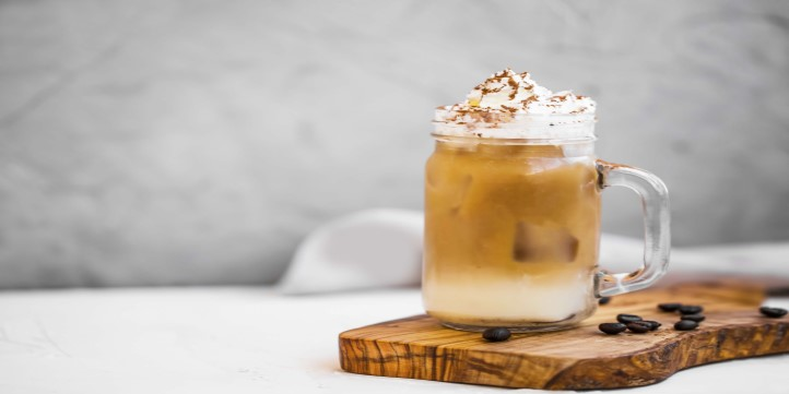 Friday- After-Dinner Coffee And Dessert With This Creme Brulee Iced Coffee