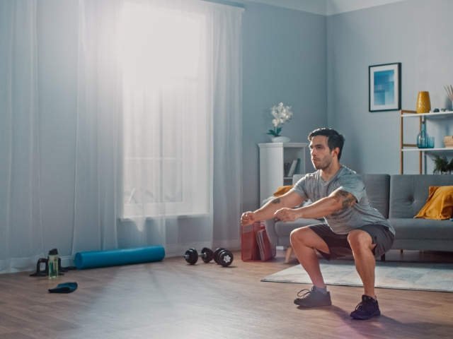 The Beginner's Guide To Exercising At Home During Social Distancing