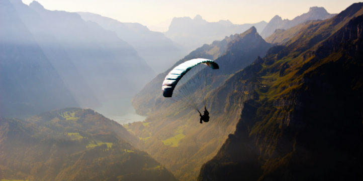 Paragliding in Gangtok – Live More Zone