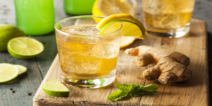 Homemade Ginger Ale - Live More Zone