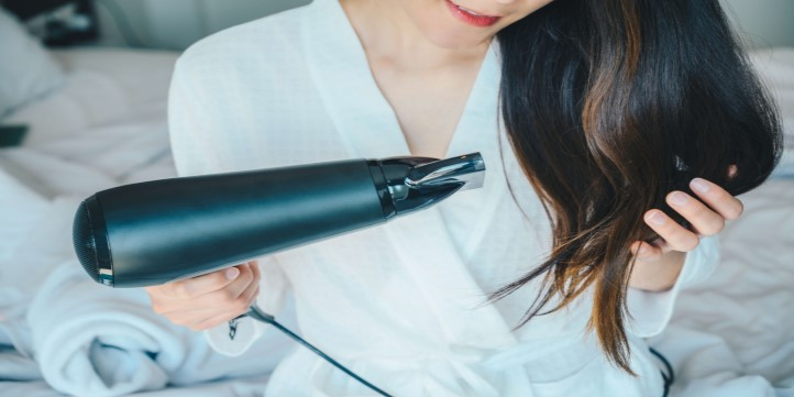 Hot-air-brush-Beauty-essentials-while-working-from-home-live-more-zone-DBS