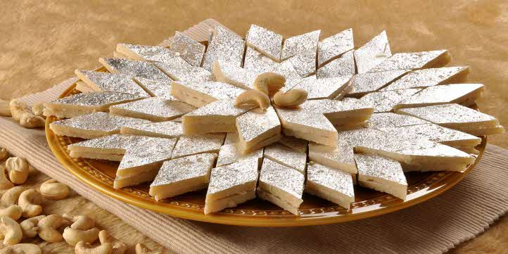 Kaju Katli Sweet – Live More Zone