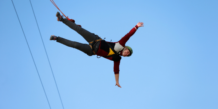 India Bungee Jump  – Live More Zone