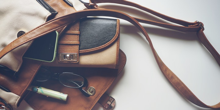 Image of a leather bag by Nappa Dori