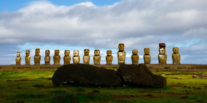 Moai On Easter Island – Live More Zone