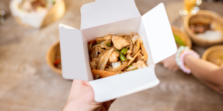 Order takeout  – Live More Zone