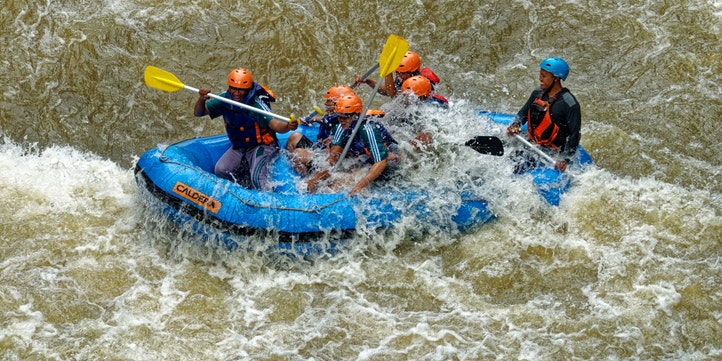 River Rafting - Live More Zone