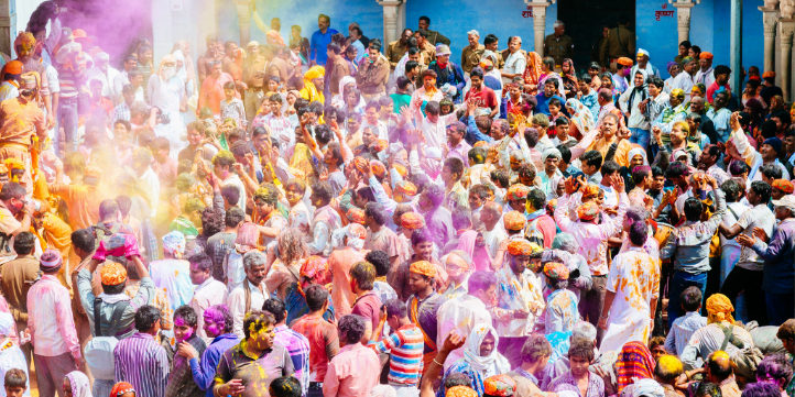 Holi in Rajasthan – Live More Zone