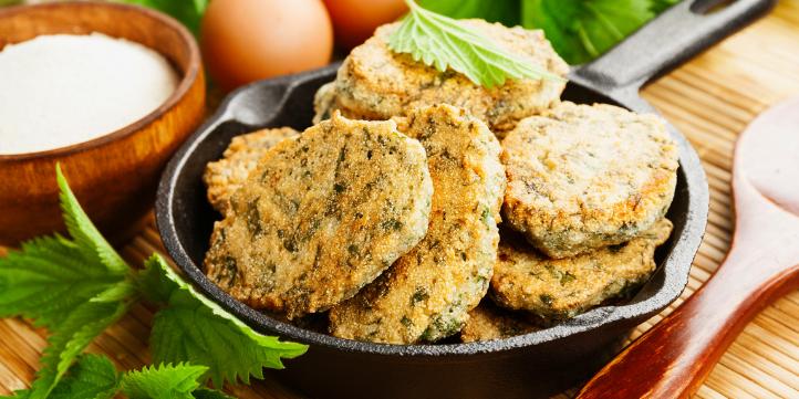 Semolina pancakes with added veggies  – Live More Zone