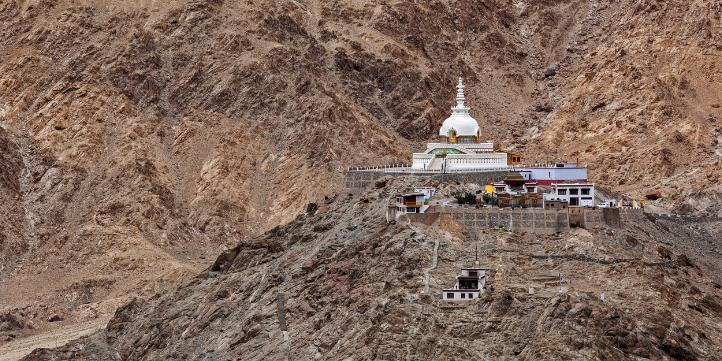 Shanti Stupa  – Live More Zone