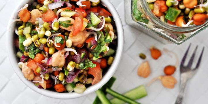 Sprouts Salad Recipe – Live More Zone