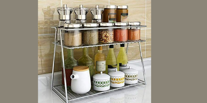 Steel Spice Rack  – Live More Zone