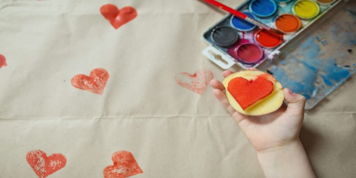 Vegetable Stamp Printing - Live More Zone