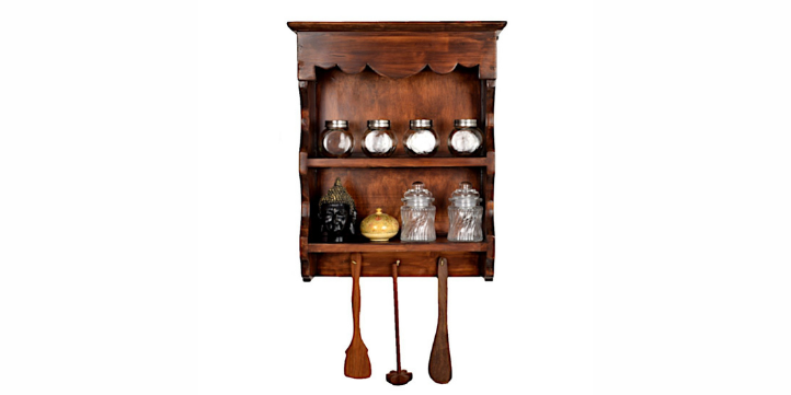 Wooden Spice Rack – Live More Zone